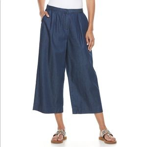 Women's DANA BUCHMAN WIDE-Leg Gauchos Pants